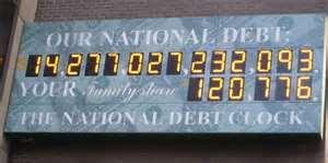 Национальный долг Америки, как Европейский выбор