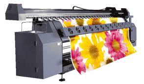 Применении широкоформатной печати